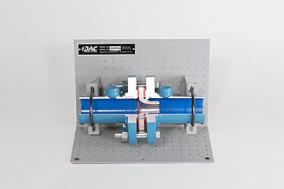 Flow Nozzle Assembly Cutaway - Process I