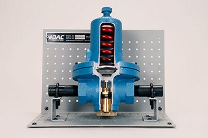 Process-Type Pressure Regulator Cutaway