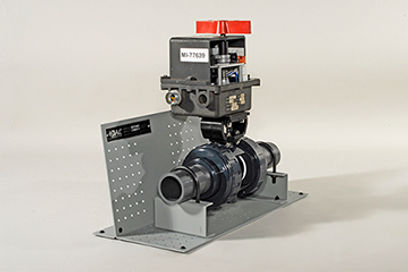 Motorized Valve Cutaway - Motor Operated