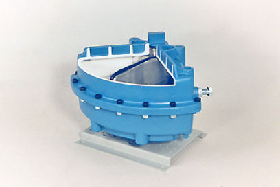 Rotary Actuator Cutaway - Realistic, Han