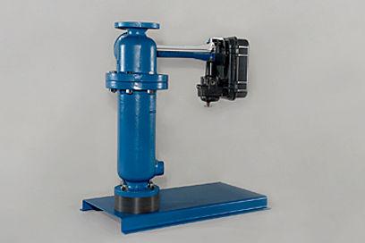 Displacement-Type Level Sensor Cutaway -