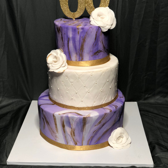 Marble Me Pretty Cake