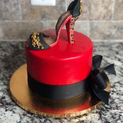 Red Bottom Cake