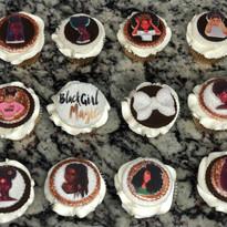 Black Girl Magic Cupcakes