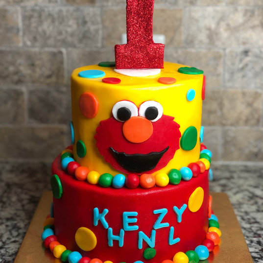 Elmo's World Cake