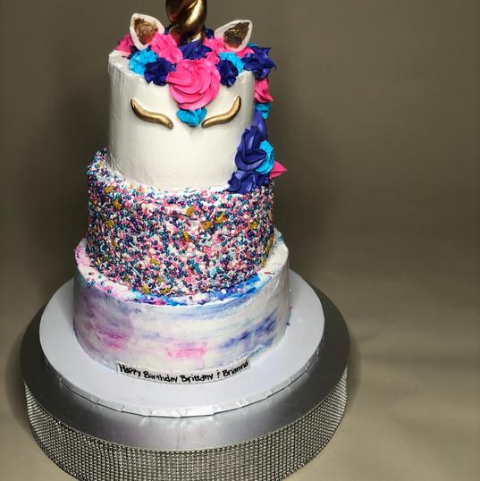 Unicorn Magic Cake