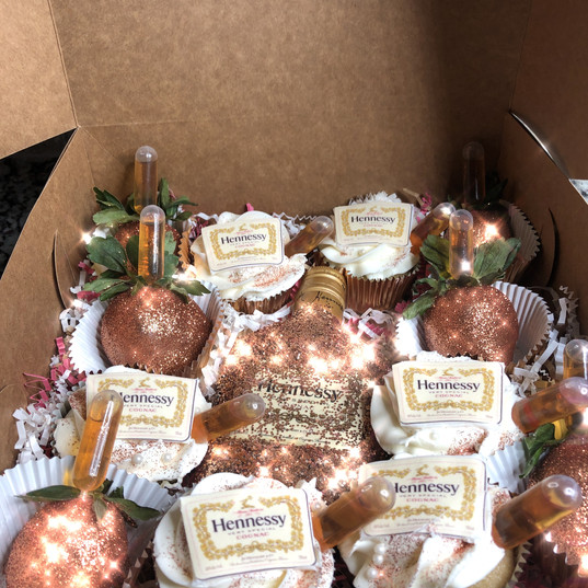 Rose Gold Henny Box