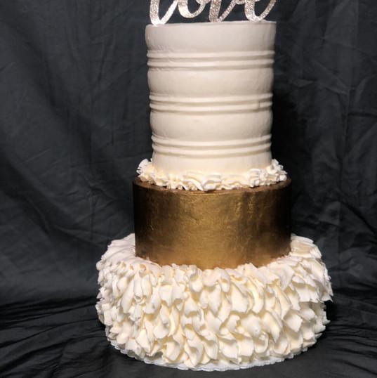 Ruffle Me Cake