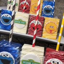 Sesame Street Theme Rice Krispies