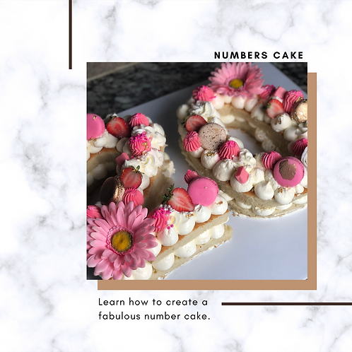 Numbers Cake