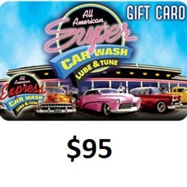 $95 GIFT CARD