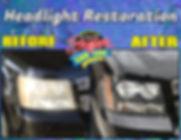 Headlight Restoration1 - Made with Poste
