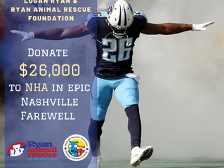 RARF Donates $26,000 to NHA in Nashville Farewell