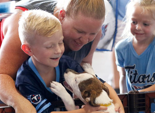 RARF HELPS 40 PUPS FIND HOMES