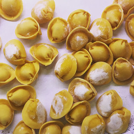 Delicious tortelloni