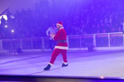 Père Noël en mode freestyle