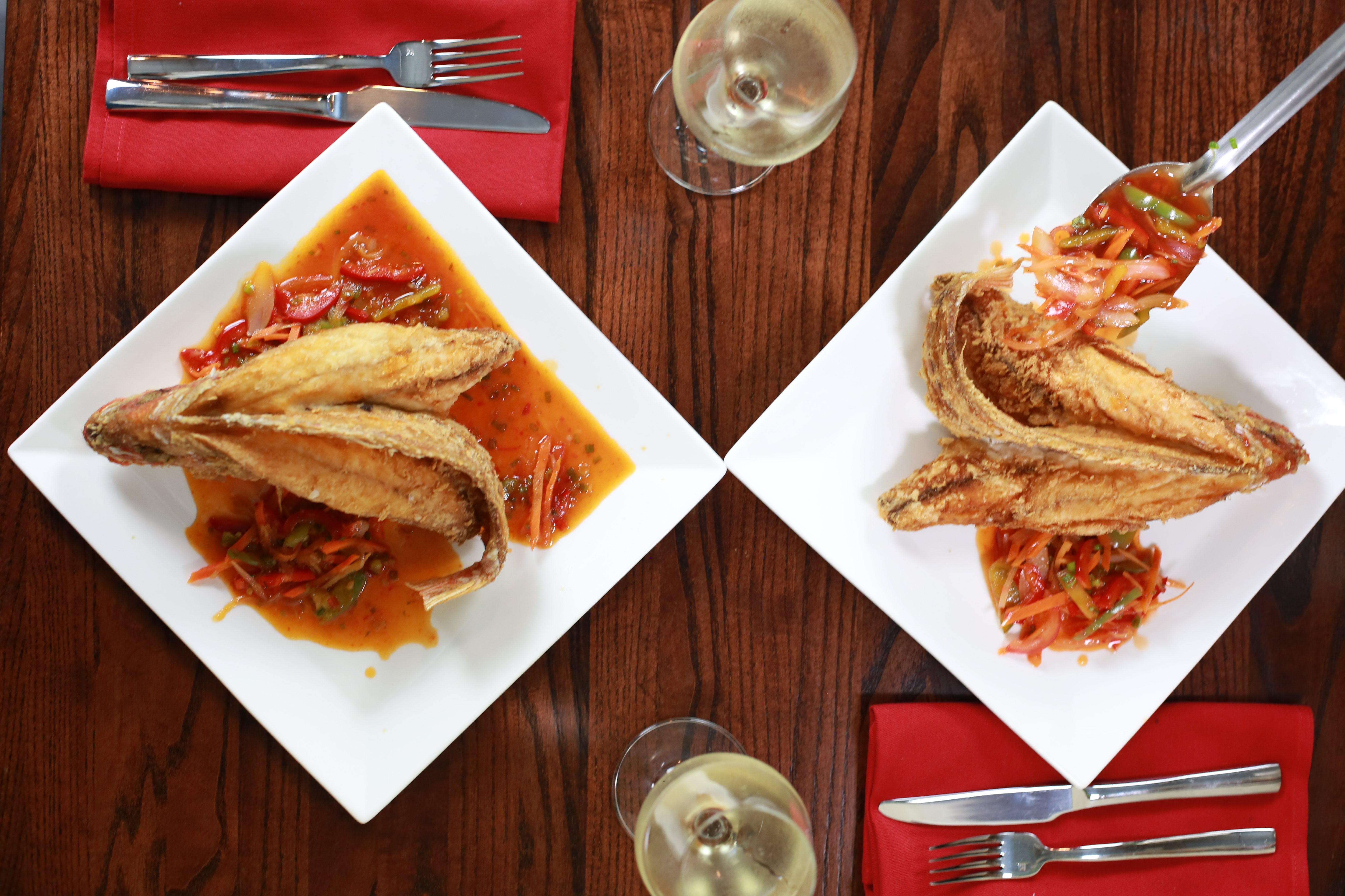 Escabeche Red Snapper