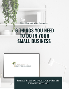 SIMPLE STEPS TO TAKE YOUR BUSINESS FROM