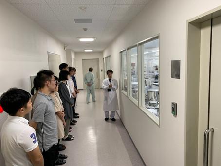 金沢大学薬学部 工場見学