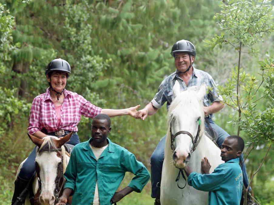 Ouma and Oupa riding in Zomba.jpg