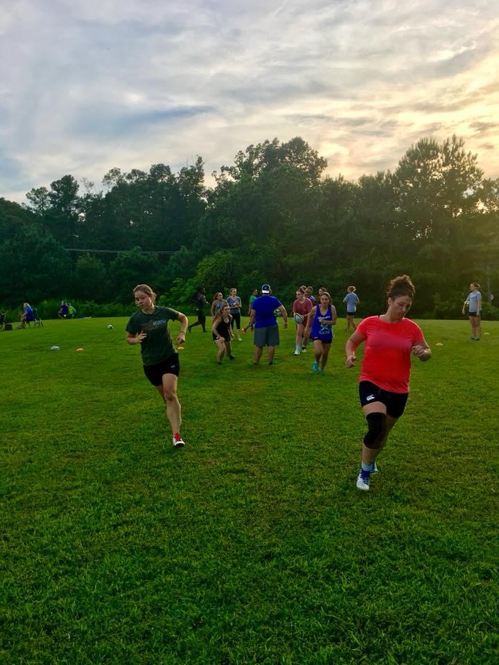 Rugby practice week 1 running