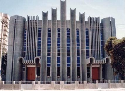 Fachada do Templo da PIB