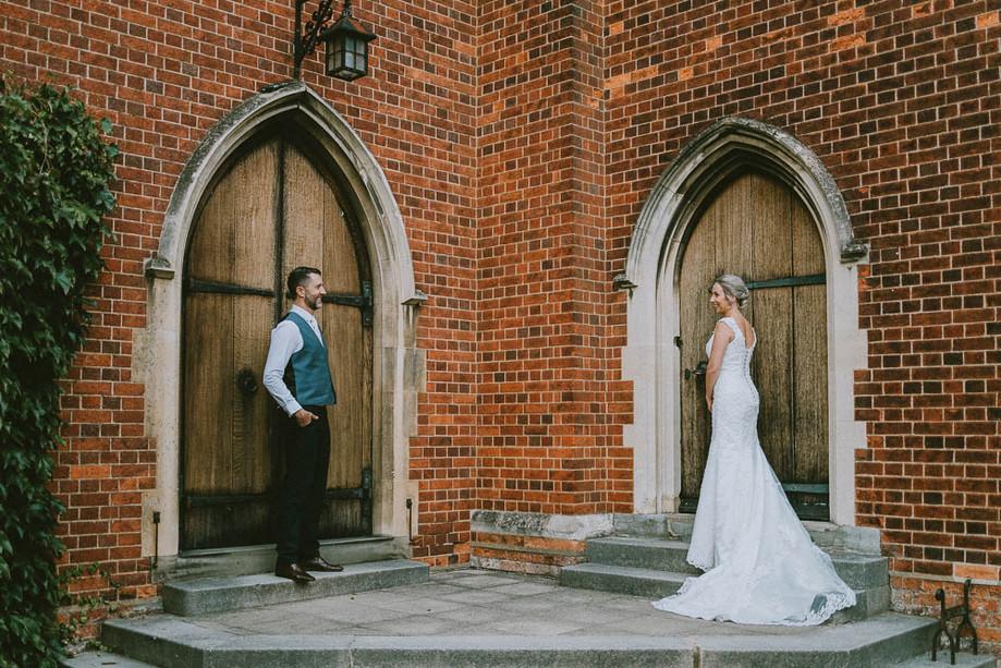 Bedford School wedding - Louise & Steve