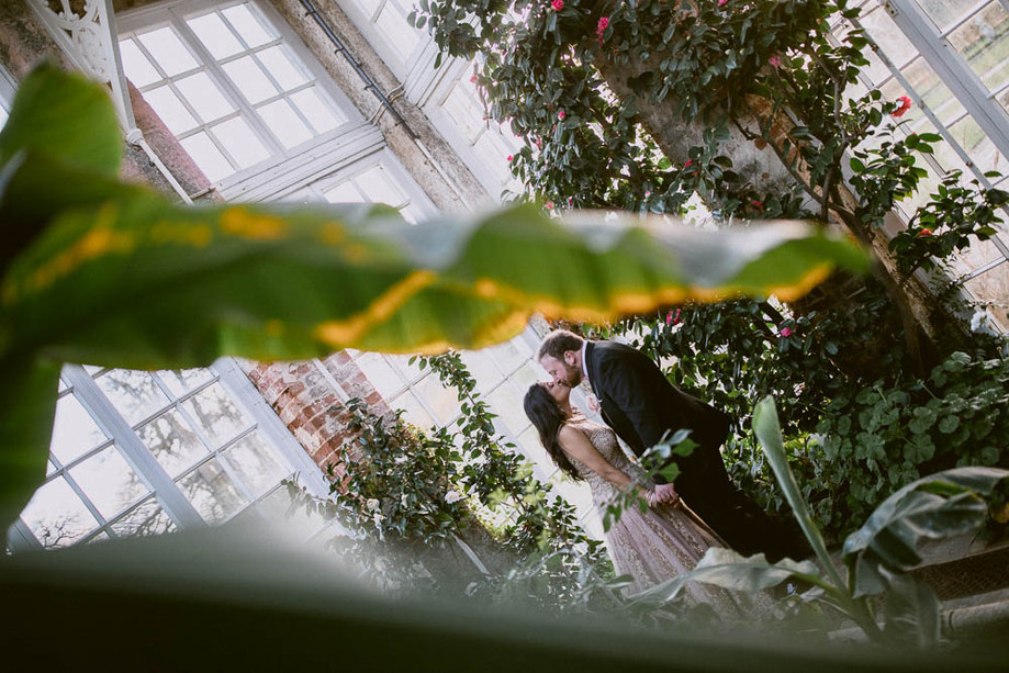 Woburn Sculpture Gallery wedding - Charles & Naiya