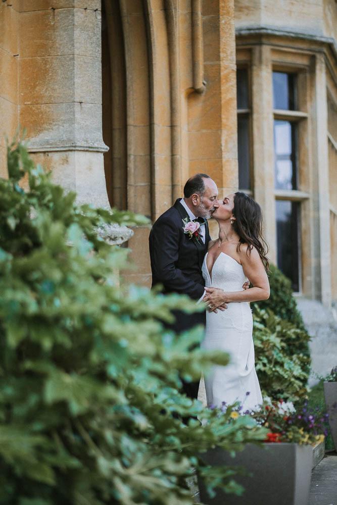 Sunken garden at the Shuttleworth House wedding - Aimee  & Rob