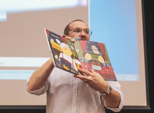 2º Encontro Literário - Caminhos para aproximar crianças e jovens dos livros com Ilan Brenman