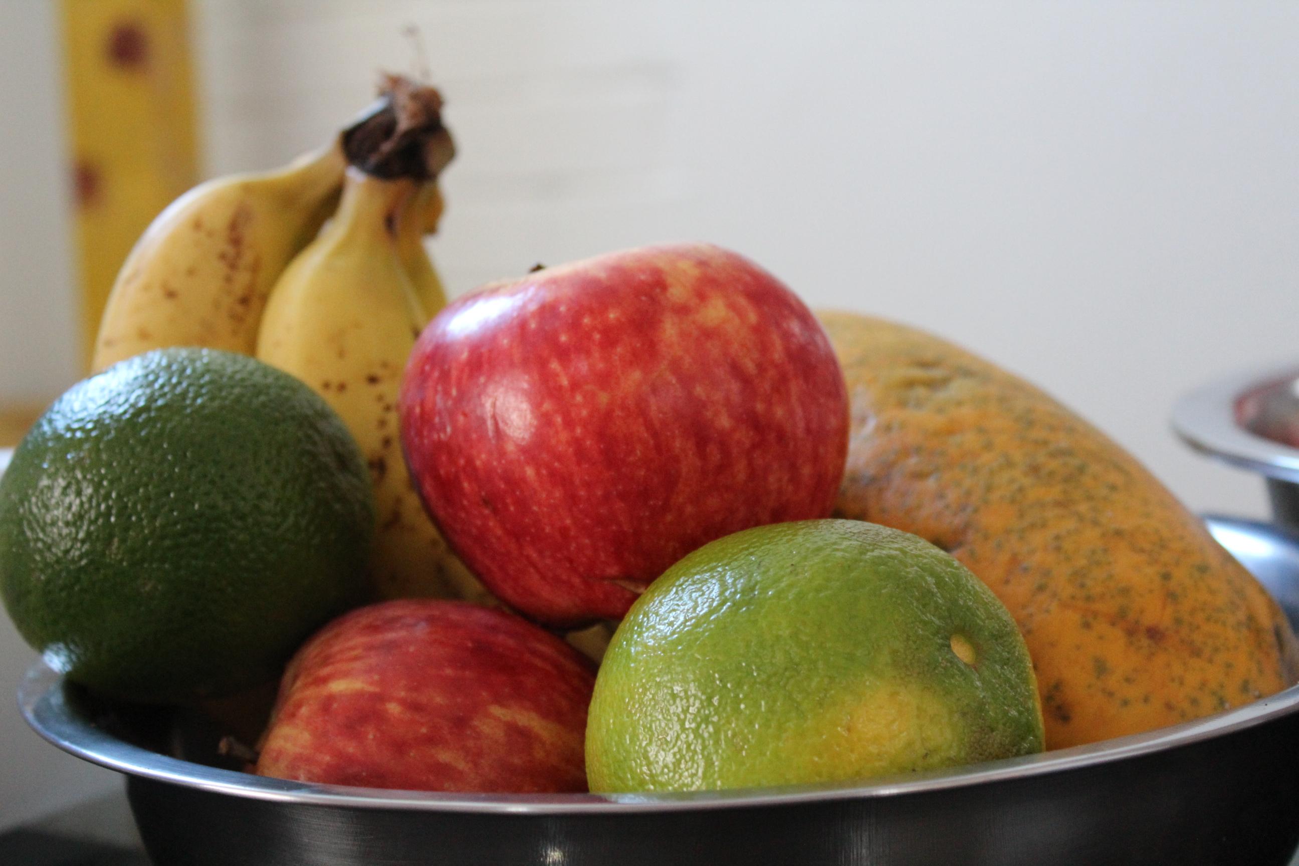 A importância de comer frutas