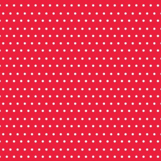 Arquitrecos-Flok tecido adesivo-estampa poa vermelho