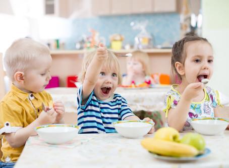 NutriDicas! A evolução da criança em relação à alimentação!