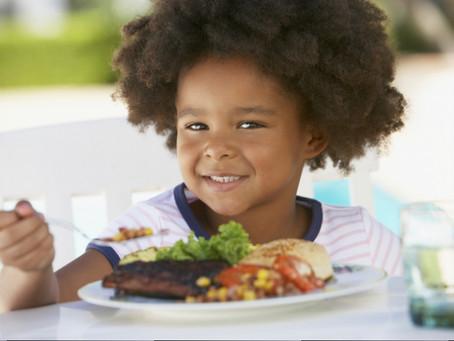 NutriDicas!! No jantar , ofereça comida, não LANCHE!