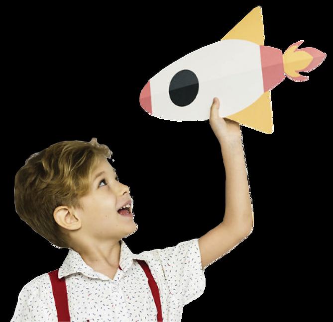 menino segurando foguete com sombra.png