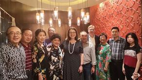 华联会关注华埠商界,卫生部长力挺中餐馆