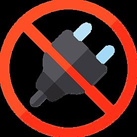 sin energia, sin nececidad de corriente electrica, aquapol no nuecesita conectarse a la corriente electrica
