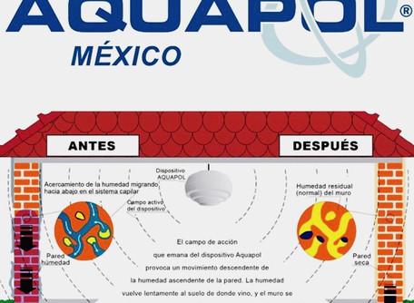 ¿Que es el Sistema de Secado de Paredes en inmuebles completos Aquapol?