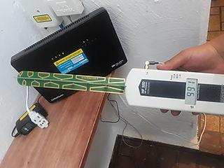 Medicpgón de ondas de electro smog aqupol
