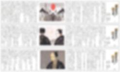 日本経済新聞「黒書院の六兵衛」挿絵 | 宇野信哉