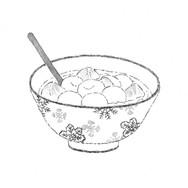 漱石、白玉氷で腹をこわす.