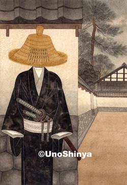 「長町武家屋敷」  shinya uno illustration