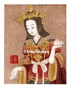 「Kissyoten 吉祥天」  shinya uno illustration