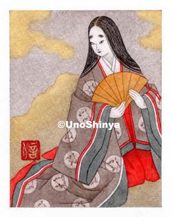 「Ononocomati 小野小町」  shinya uno illustration