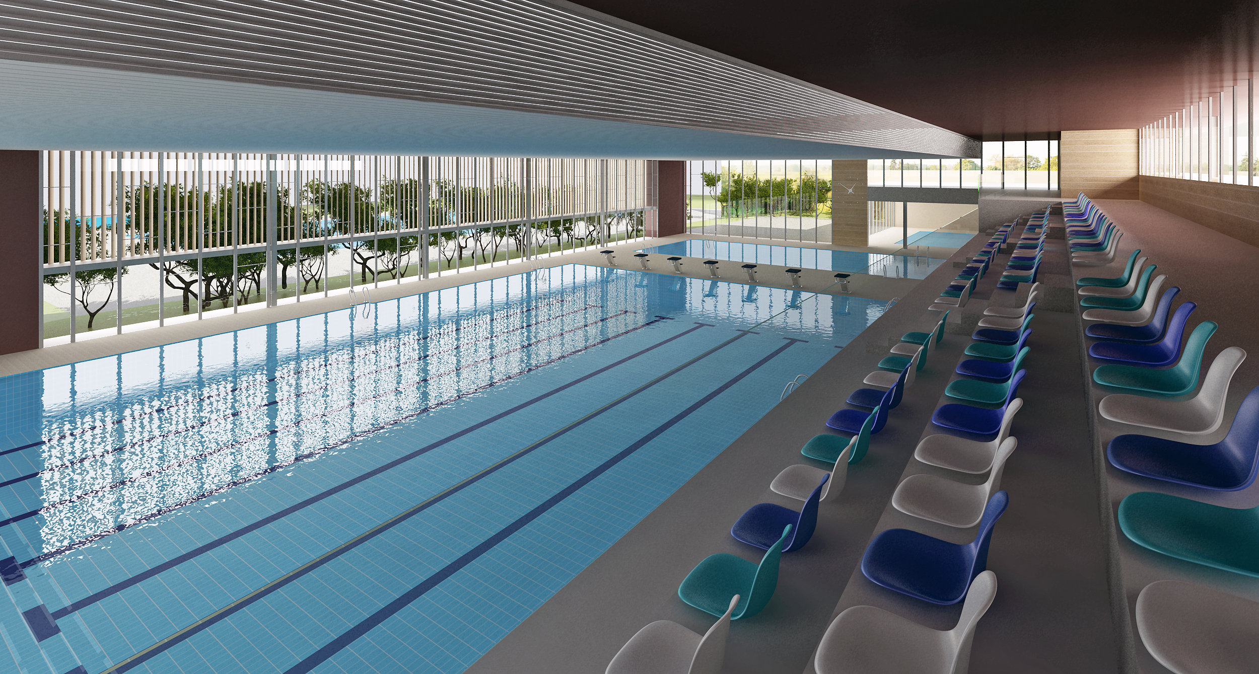 Concurso piscina Teruel