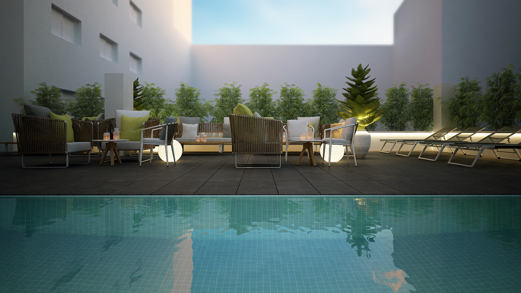 Propuesta terrazas Hotel Mindoro