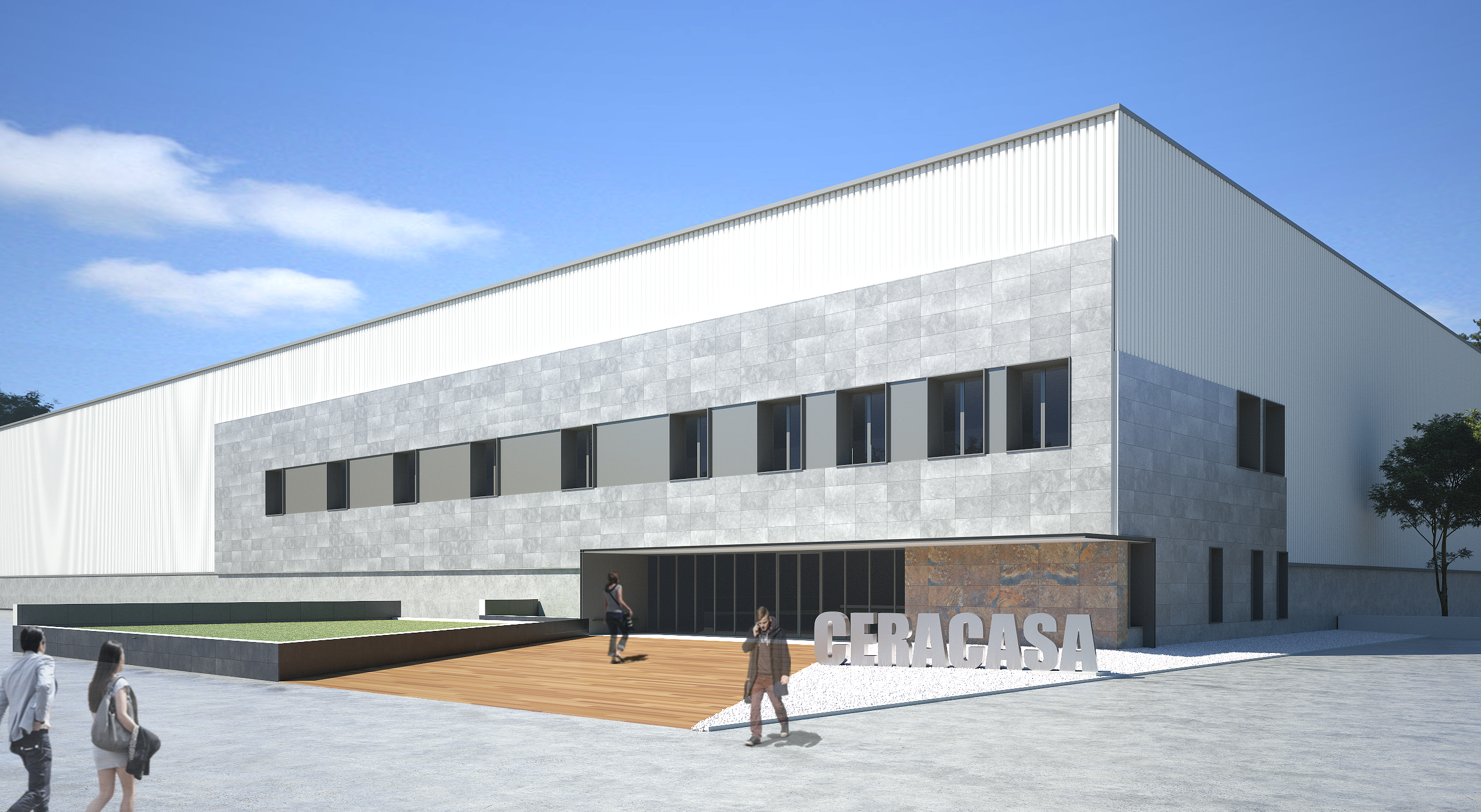 3D Nuevas Oficinas CERACASA