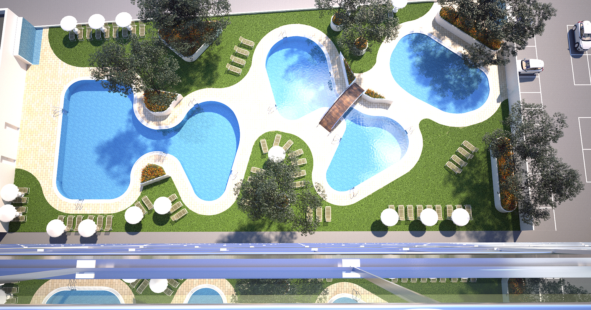 3D piscinas