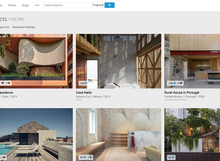 Excelente web proyectos arquitectura