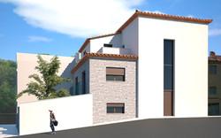 3D Vivienda en Sierra Engarcerán